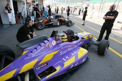 Bruno Senna, Raikkonen-Robertson Racing with Galaxy Dallara/Mercedes-HWA