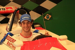 Macau Grand Prix Museum - celebrating 25 years of the F3 Macau Grand Prix: Bruno Senna tries uncle Ayrton's Macau Grand Prix winning car for size