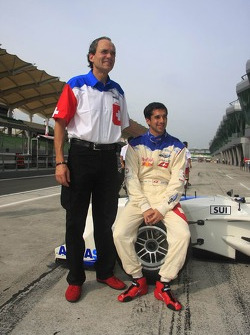 Max Welti and Neel Jani, A1 Team Switzerland