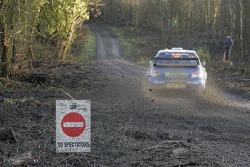 Xavier Pons and Xavier Amigo, Subaru WRT, Subaru Impreza 2007