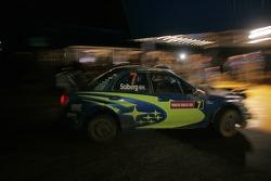 Petter Solberg and Phil Mills, Subaru WRT Subaru Impreza 2007 WRC
