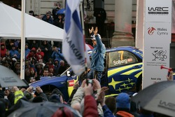 Podium: Petter Solberg and Phil Mills