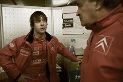 Sébastien Loeb with Guy Fréquelin