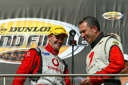 Jamie Whincup takes out third for the round(TeamVodafone Ford Falcon BF)