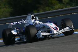 Nick Heidfeld, BMW Sauber F1 Team, F1.07, slick tyres