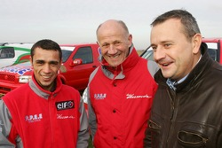 Team Dessoude presentation in Le Galicet: Brahim Asloum and AndrÈ Dessoude
