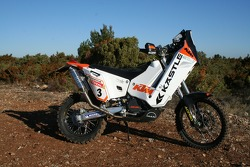 KTM: the Kaestle KTM 690 Rally of David Casteu