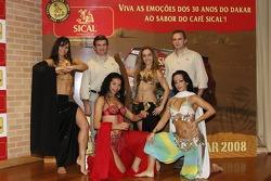 Team Sical Challenge: Rodrigo Amaral and Duarte Amaral in charming company