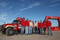 Team Sical Challenge: Rodrigo Amaral and Duarte Amaral with their team