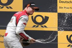 Podium: 2. Edoardo Mortara, Audi Sport Team Abt