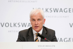 Matthias Müller, Volkswagen CEO