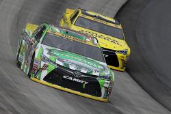 Kyle Busch and Matt Kenseth, Joe Gibbs Racing Toyotas