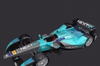 Livery unveil for NEXTEV TCR Formula E Team