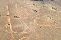Aerial view of SA Motorsport Park