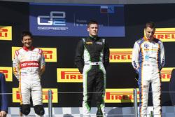 Podium: 1. Richie Stanaway, Status Grand Prix; 2. Rio Haryanto, Campos Racing; 3. Raffaele Marciello, Trident