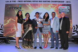 Akash Gowda Junior Max Champion