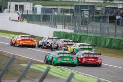 Edoardo Mortara , Audi Sport Team Abt Audi RS 5 DTM  and Miguel Molina , Audi Sport Team Abt Audi RS 5 DTM