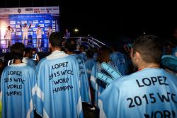 Citroën World Touring Car team celebrates the 2015 championship