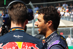 Daniel Ricciardo, Red Bull Racing on the grid