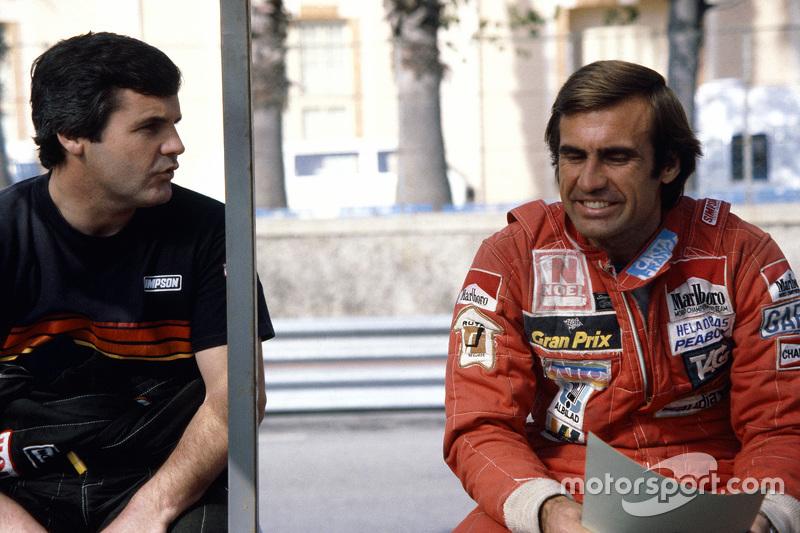 Alan Jones and Carlos Reutemann, Williams