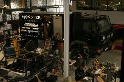 Team Dakar USA: Team Dakar USA gets ready for the Dakar at their shop in Anaheim, California