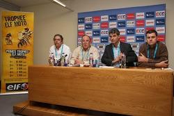 Elf Total press conference