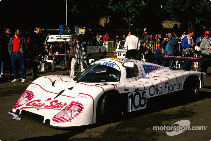 #105 Porto Kaleo Team Tiga GC 289 Ford: Jean-Claude Justice, Noël Del Bello, Jean-Claude Ferrarin