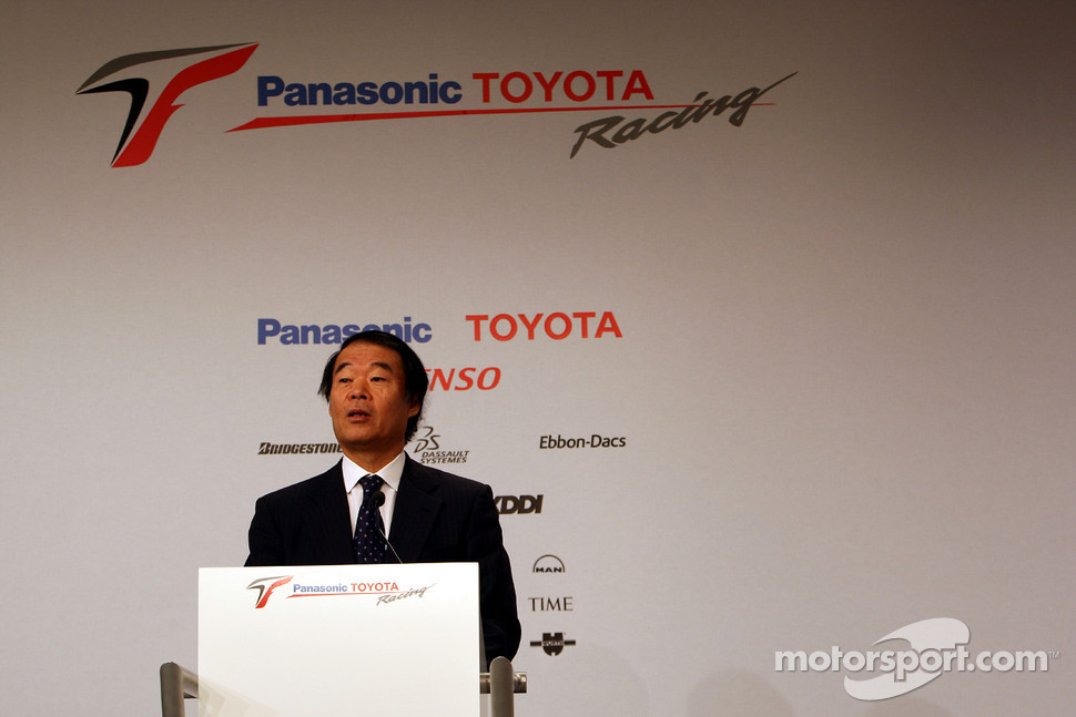Kazou Okamoto, Toyota Motor Corporation Executive Vice President