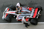 Pedro de la Rosa, Test Driver, McLaren Mercedes, MP4-23