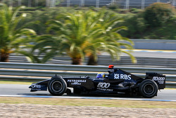 Nico Rosberg, WilliamsF1 Team, FW29 Concept car