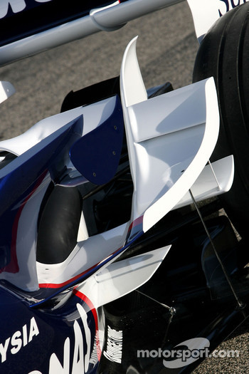 New BMW Sauber F1.08 wings detail