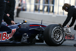 David Coulthard, Red Bull Racing, detail