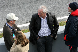 Dietrich Mateschitz, Owner of Red Bull, Gerhard Berger, Scuderia Toro Rosso, 50% Team Co Owner