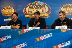 Patrick Carpentier, Dale Jarrett and Bobby Labonte