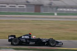 Nico Hulkenberg, Test Driver, Williams F1 Team, FW30