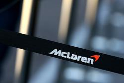 McLaren Mercedes barrier