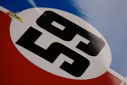 Detail of the Brumos Racing Porsche Riley