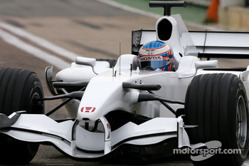 Jenson Button, Honda Racing F1 Team, RA108