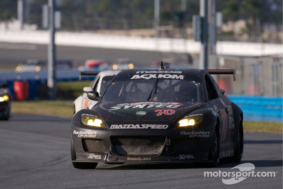 #70 SpeedSource Mazda RX-8: Nick Ham, David Haskell, Raphael Matos, Sylvain Tremblay
