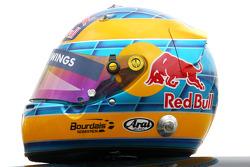 Helmet of Sébastien Bourdais, Scuderia Toro Rosso