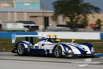 #20 Dyson Racing Team Porsche RS Spyder: Butch Leitzinger, Marino Franchitti