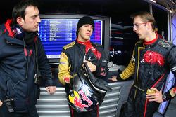Sebastian Vettel, Scuderia Toro Rosso and Sébastien Bourdais, Scuderia Toro Rosso