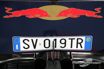 Back of the Toro Rosso