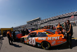 Home Depot Chevrolet in the tech inspection line