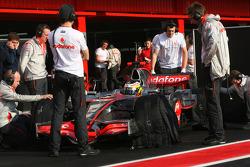 Pedro de la Rosa, Test Driver, McLaren Mercedes, MP4-23