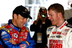 Dale Earnhardt Jr. and Matt Kenseth