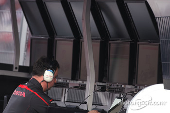 Honda Racing F1 Team engineer
