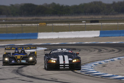 #11 Primetime Race Group Dodge Viper Competition Coupe: Joel Feinberg, Chris Hall, #26 Andretti Green Racing Acura ARX-01b Acura: Bryan Herta, Christian Fittipaldi, Marco Andretti