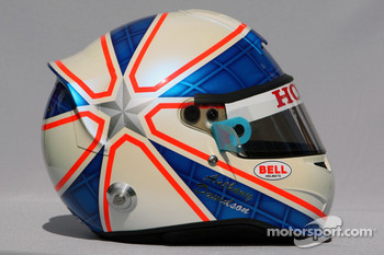 Anthony Davidson, Super Aguri F1 Team, helmet