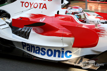 Jarno Trulli, Toyota Racing, TF108, Sidepod